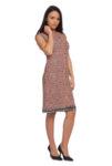 Права рокля букле