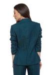 Синьо-зелено сако