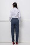 Тъмносин панталон със светла точка