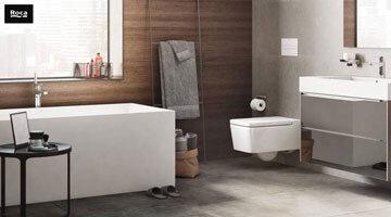 Реновиране на Вашата баня в пет стъпки от ТЕД Керамика и ROCA