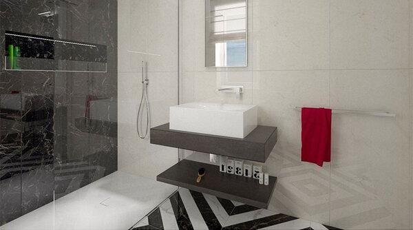 Плочките за баня