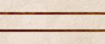 Фаянс 30/60 Decor Carolina Marfil 1.62/м2.