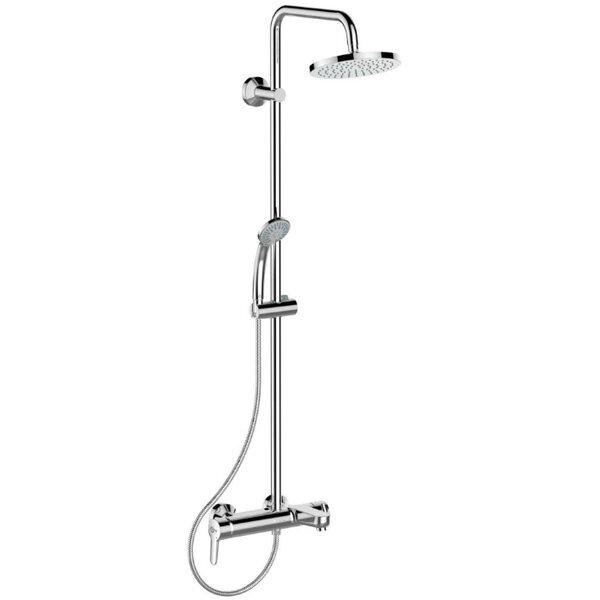 Душ система със смесител за вана и душ IDEAL STANDARD Idealrain Soft B1097AA