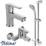 Смесител за мивка, вана/душ и тръбно окачване 3в1 VIDIMA Calista B1435AA