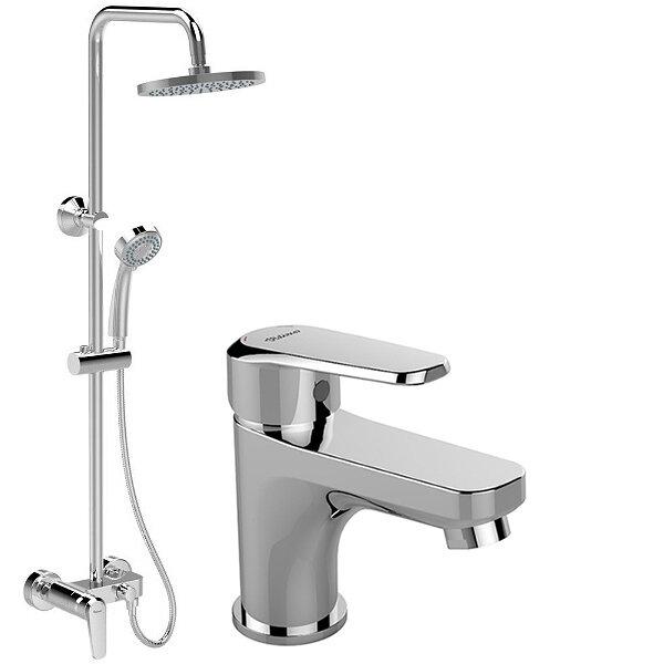 Комплект душ система със смесител за мивка VIDIMA Seva L B2190AA