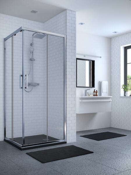 Плъзгаща врата за квадратна или правоъгълна душ кабина IDEAL STANDARD Connect 2 90см. K9261EO