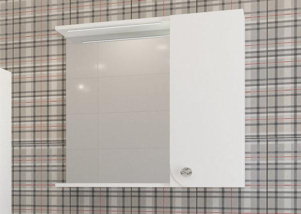 Горен шкаф VISOTA ПОЛИНА 76 PVC с LED десен