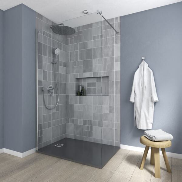 Преграден панел за баня 100 см IDEAL STANDARD CONNECT 2 K9378EO