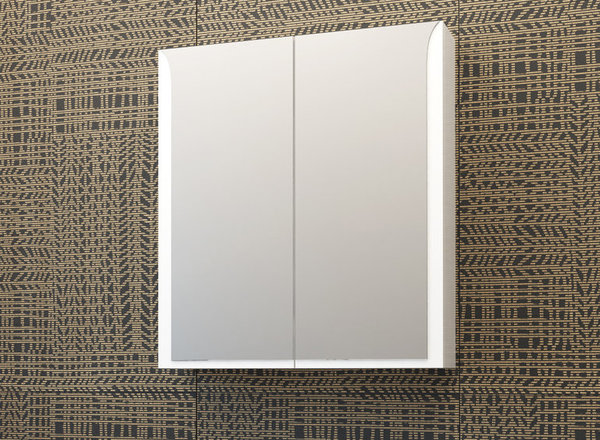 Горен шкаф с огледало VISOTA ЛИНЕА 65 PVC