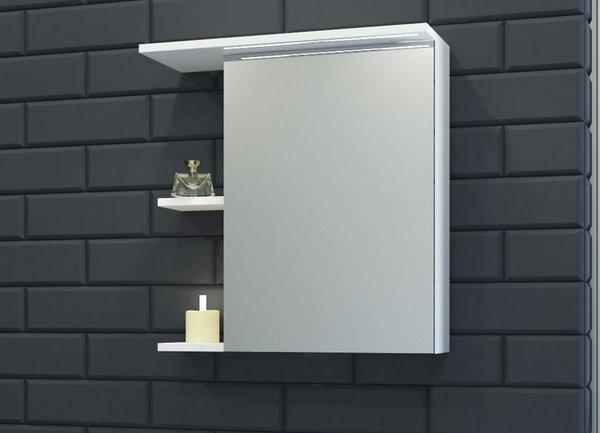 Горен шкаф VISOTA НИЯ 60 PVC с LED ляв