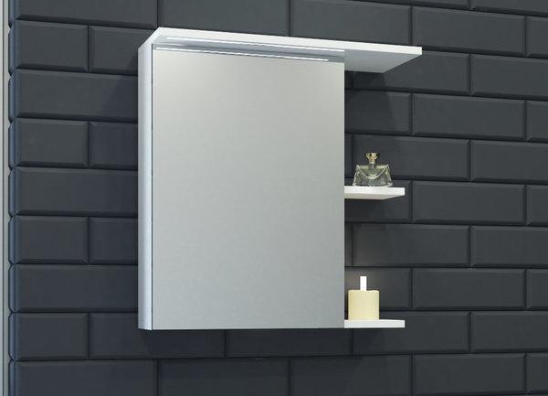 Горен шкаф VISOTA НИЯ 60 PVC с LED десен