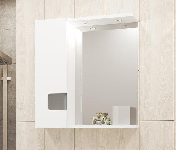 Горен шкаф VISOTA НОРА 60 PVC с LED ляв