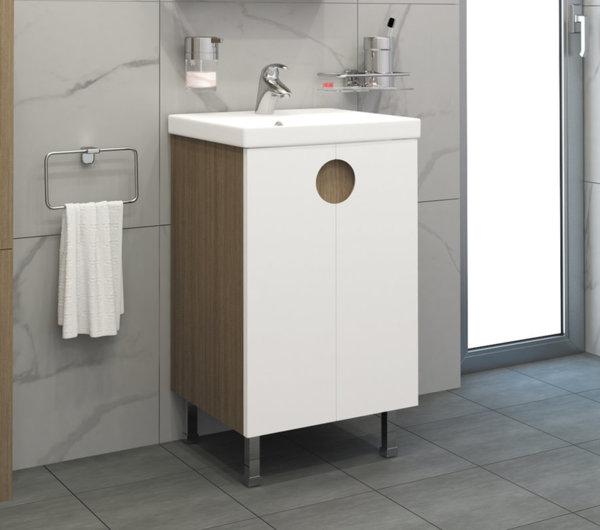 Долен шкаф VISOTA ОЛЯ 50  PVC/HPL с мивка City