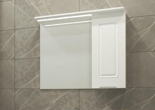 Горен шкаф с огледало VISOTA АНА PVC 75/70 см.