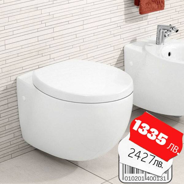 Стенна тоалетна VILLEROY & BOCH Aveo New Generation 9M57S1R1