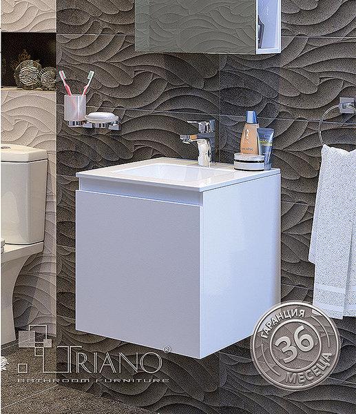 Долен шкаф TRIANO ИЗИ 45 PVC с умивалник Линеа