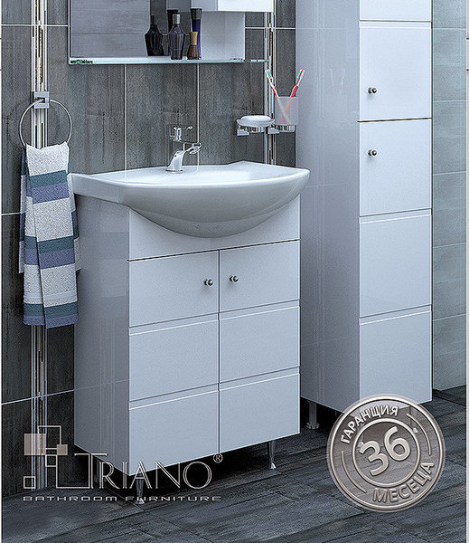 Долен шкаф TRIANO ЕМОНА 60 PVC