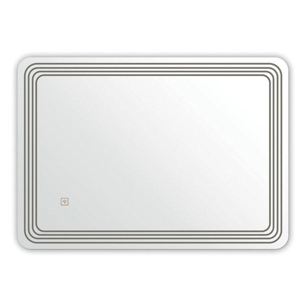 LED Огледало с нагревател 80/60 FORMA VITA XD-046-12F