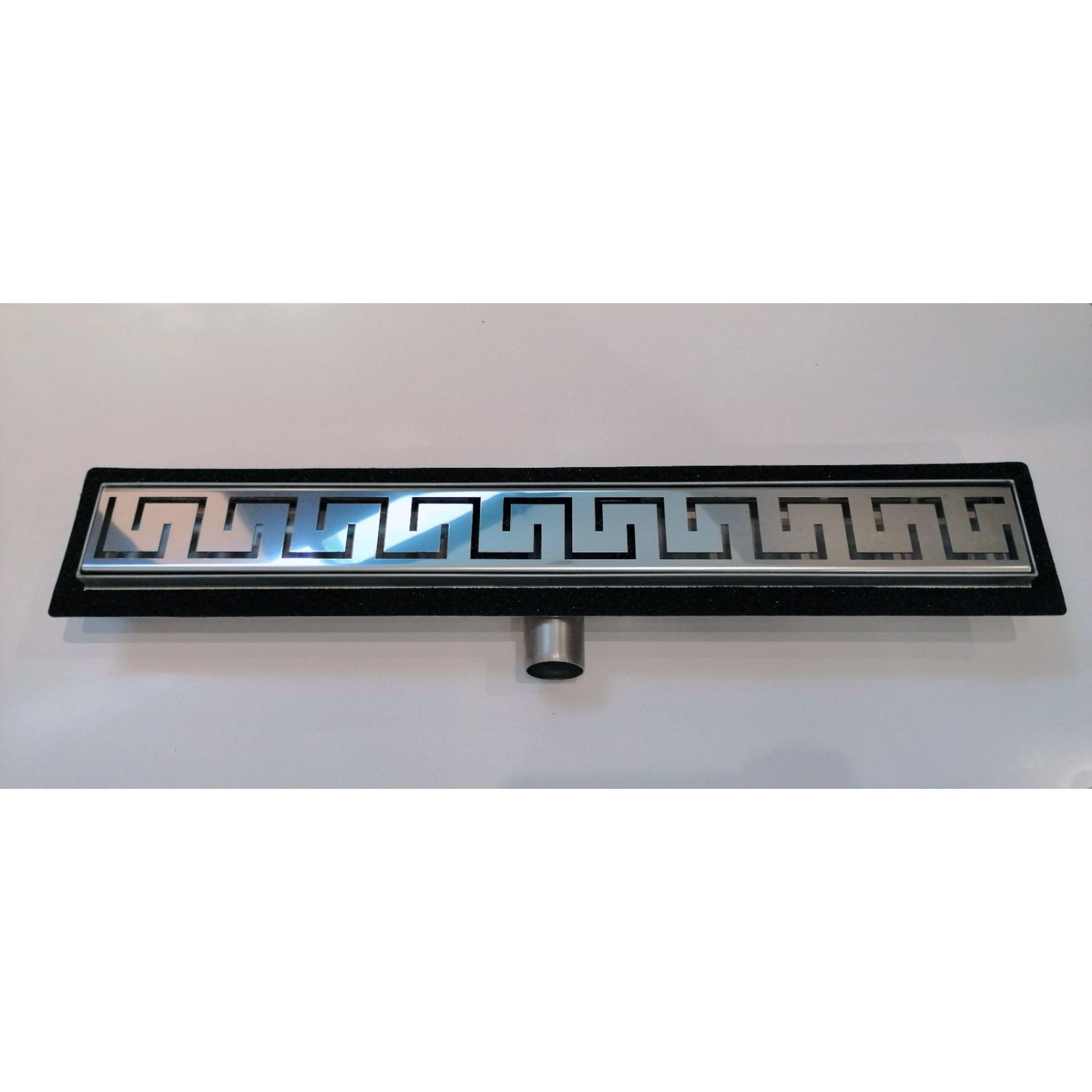 Подов линеен сифон FORMA VITA FVS с решетка на кръгчета-Copy