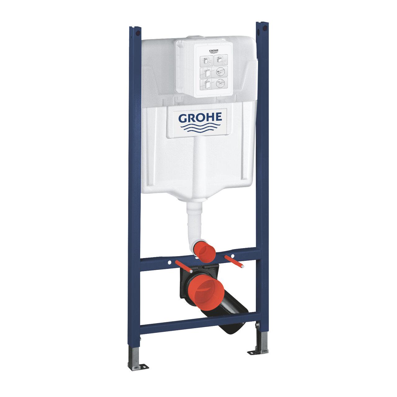 Структура за вграждане за тоалетна GROHE Rapid SL 3в1 висока 1,13см 38745001-Copy