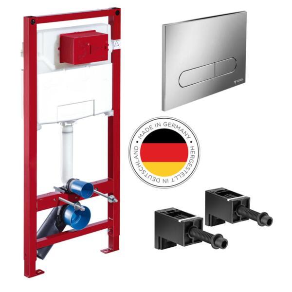 Комплект структура за тоалетна с планки и бутон SCHELL MONTUS C120 WC 030560099