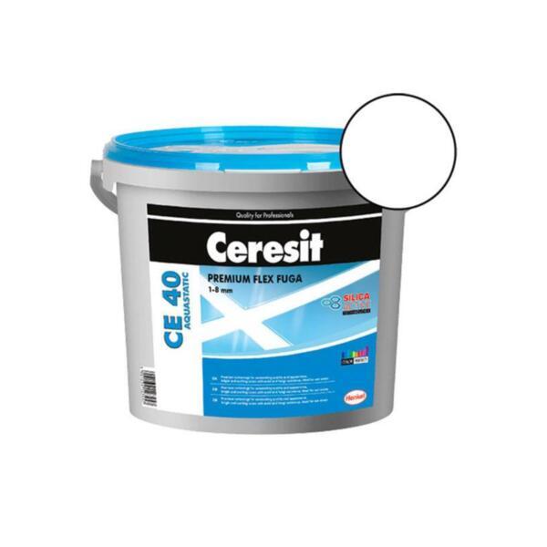 Гъвкава фугираща смес CERESIT CE 40 Aquastatic -2кг