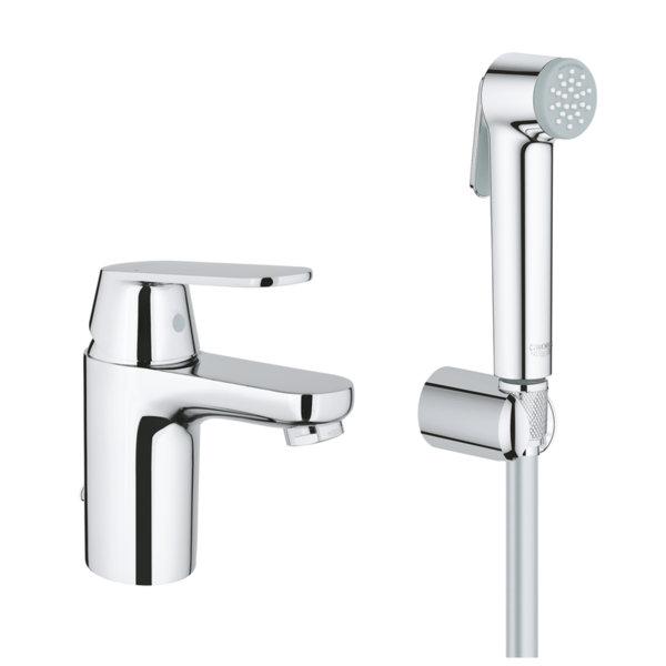 Смесител за мивка с ръчен душ GROHE EUROSMART COSMOPOLITAN 23125000