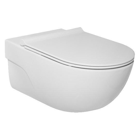 Тоалетна чиния за вграждане ROCA Meridian Rimless A34624L000