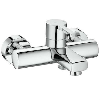 Смесител стенен за вана и душ за баня ROCA NAIA A5A0296C00
