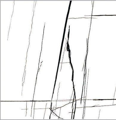 45/45 Гранитогрес TERMAL SERAMIK Ponte White 1.62м2.