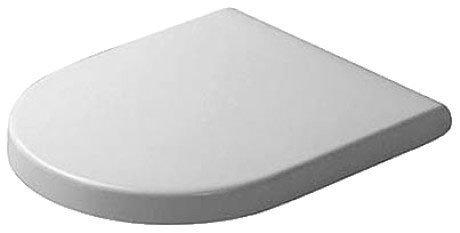 Седалка за тоалетна чиния с капак със забавено падане DURAVIT Starck 3  0063890000/95