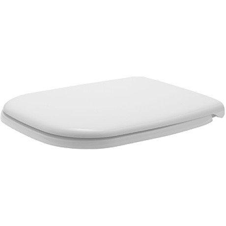 Седалка за тоалетна чиния със забавено падане DURAVIT D-Code 0067390095