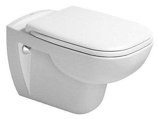 Тоалетна чиния за стена с капак и седало DURAVIT D-Code 45700900A1
