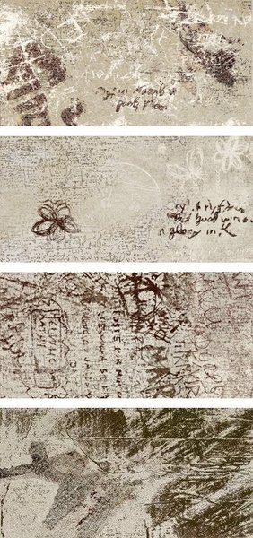 30/60 Гранитогрес LEONARDO Word Up Graffiti BG MIX