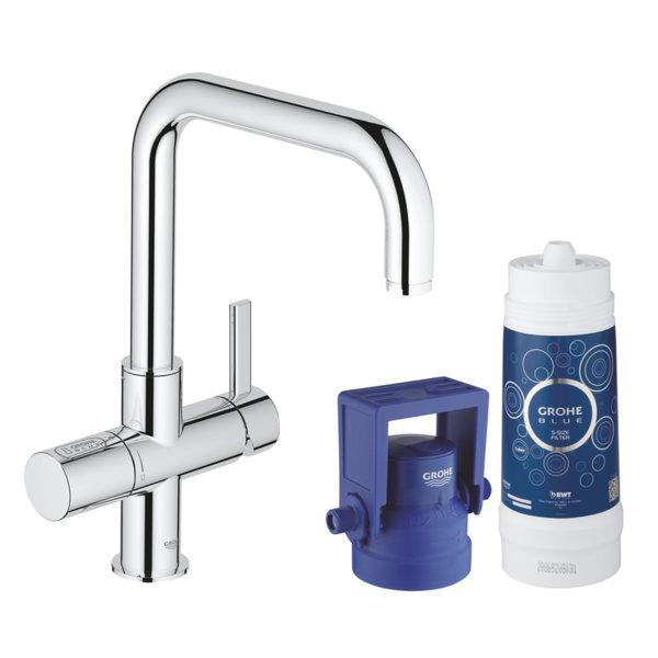 Филтрираща система GROHE Blue Pure с U-чучур 31299001