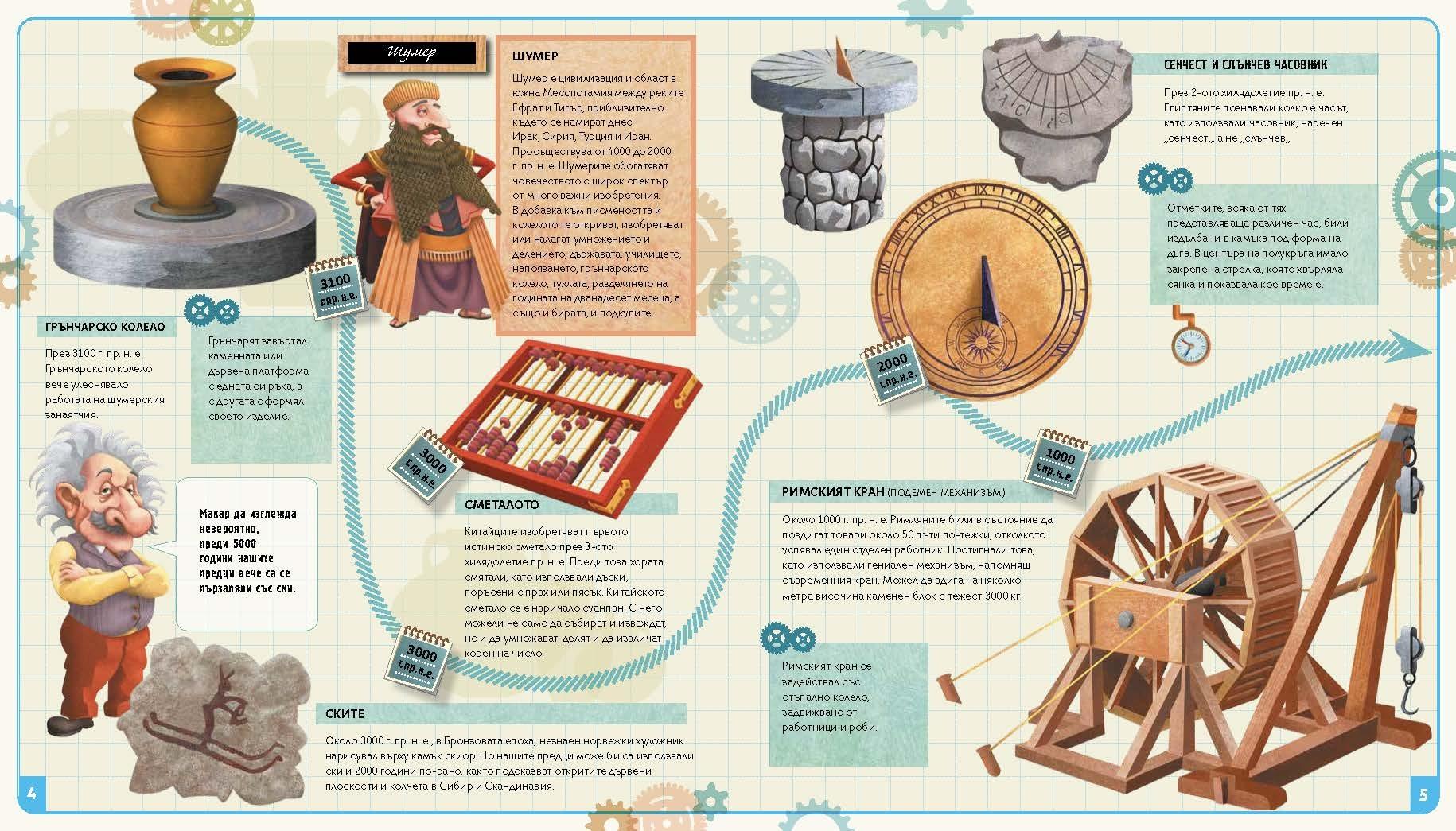 Пътешественик във времето — Открития