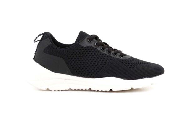 Pantofi sport negri din piele ecologică pentru bărbaţi 57.41302