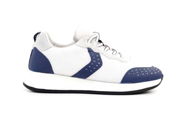 Pantofi sport albi din textil pentru bărbaţi 57.40601