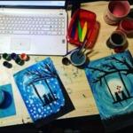 Рисуване от вкъщи