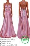 Официална дълга рокля цвят розов Lorreti