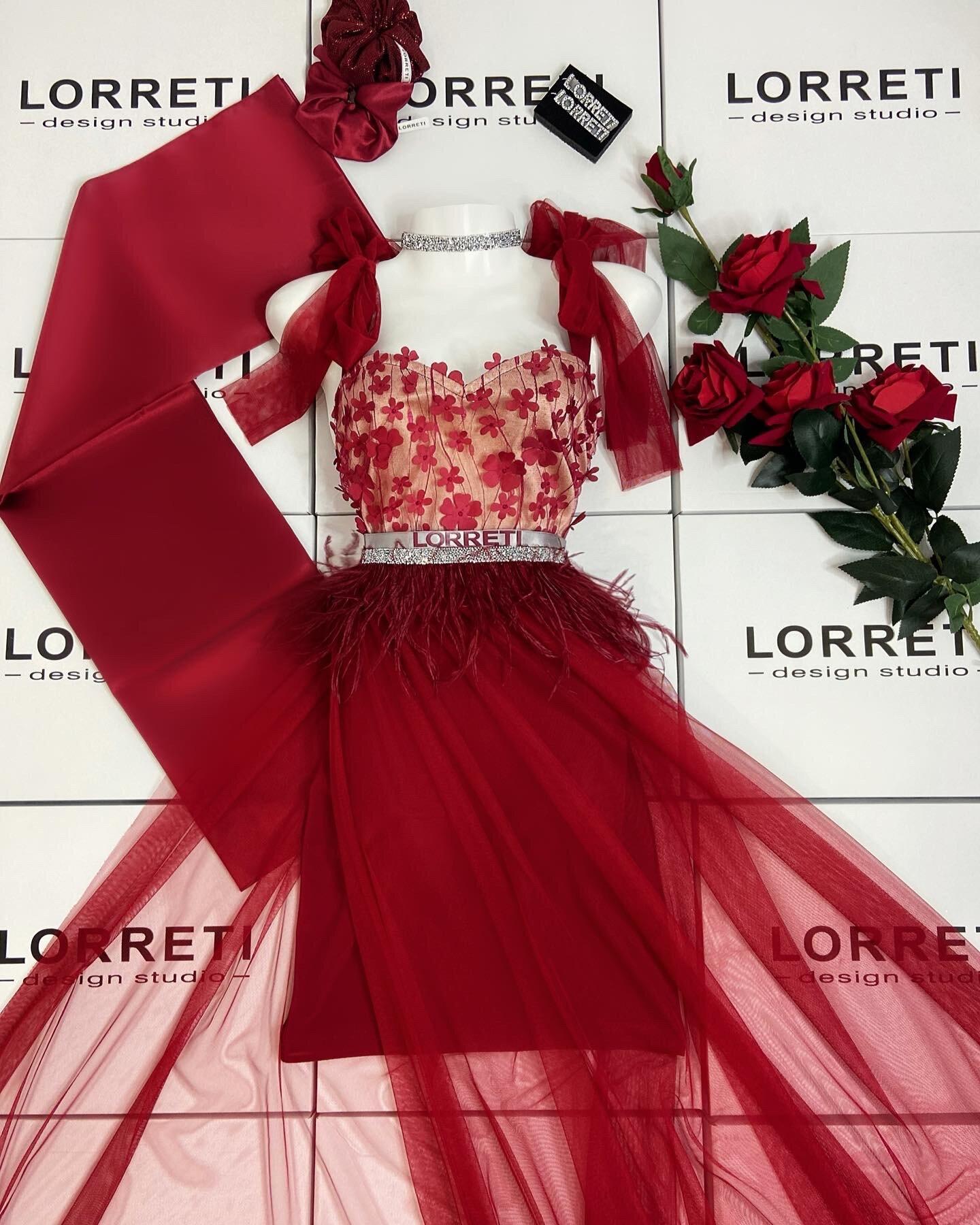 Официална дълга рокля цвят бордо дантелена lorreti