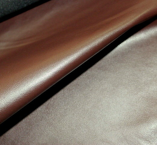 Еко кожа лицева еластична - шоколадово кафява