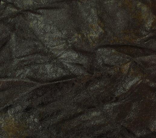 Еко кожа - намачкана ватирана кафява