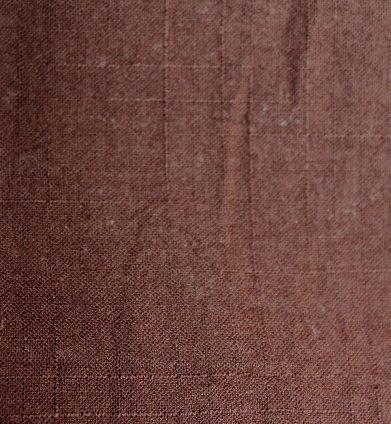 Плат памук дюс - парен кафяв