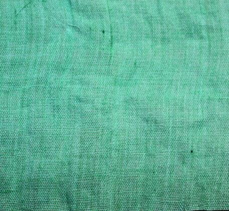 Плат памук  фин - светлозелен