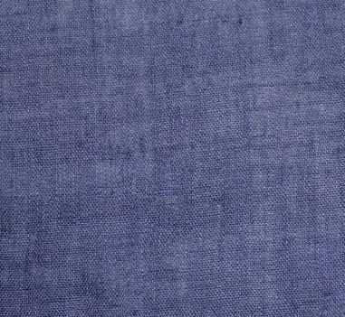 Плат памук фин дюс - мастилено синьо