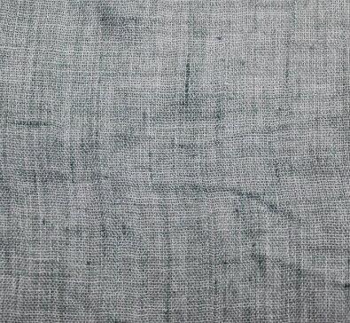 Плат памук фин дюс - сивозелен