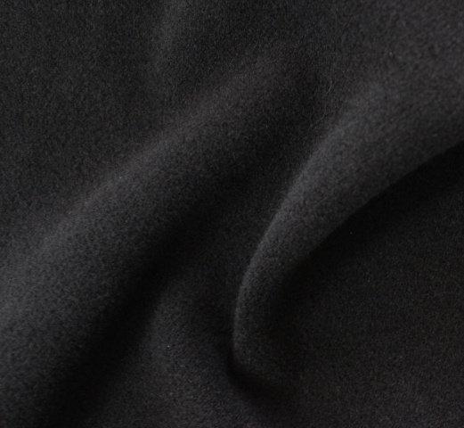 Плат кашмир - Черен вълна
