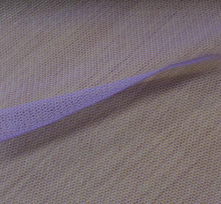 Тюл еластичен дюс - лилав