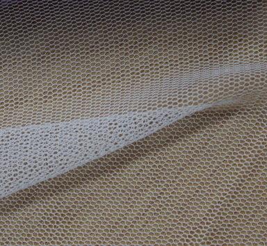 Тюл еластичен дюс - екрю